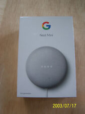 Google Nest Mini (2nd Generation) Smart Speaker - Chalk..SEALED..