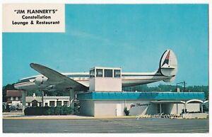 PENNDEL, PA - Jim Flannery's CONSTELLATION LOUNGE & RESTAURANT -Vintage Postcard