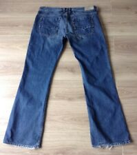 DIESEL ZATHAN JEANS BOOTCUT SIZE 38 X 34 HEM WEAR SEE DESCRIPTION