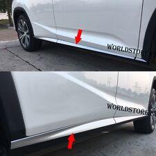 Matte Body Side Door Molding Cover Trim Fit for Lexus RX350 450h 200t 350L 450hL