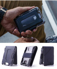 Tactical RFID Men Anti-thief Slim Wallet Aluminum Credit Card Holder Unisex