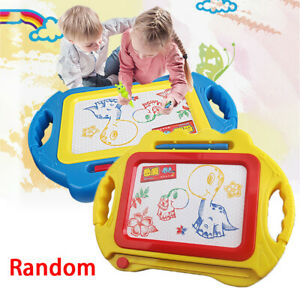 GROß Zaubertafel Magnet Maltafel Zeichentafel Schieber Kinder Schreibtafel Tafel