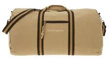Tasche Spear Duffle Bag Canvas Reisetasche Sporttasche Canvastasche 12318 Camel