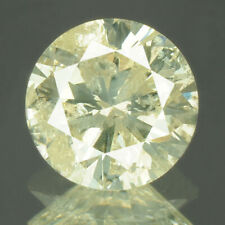0.73 cts CERTIFIED Round Cut Sparkly Off White Color Loose Natural Diamond 21761