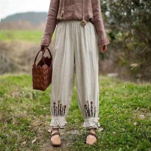Panty bloomer lin broderies dentelle ancien Mori hippie shabby chic vintage