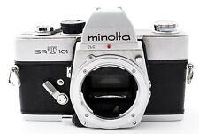 Minolta SRT 101 35mm Appareil Photo Argentique SLR Argent Corps [ Pour Pièces]
