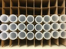 24 New Duraclear Round Coin Tubes for Penny (1 cent)  Made in USA