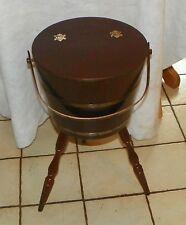 Oak Sewing Basket  (HD182)