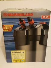 New MARINELAND MAGNIFLOW CANISTER 220 FOR AQUARIUMS UP TO 55 GALLONS
