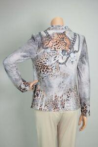 MISSY 2-Knopf Kurzblazer Leopard Snake Print - viel Strass & Glitzer - MUST HAVE