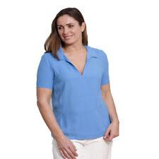 Short Sleeve V Neck Blouse Plus Size for Women