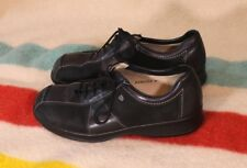 Women's FINN COMFORT Oxfords Black Leather & Suede SZ UK 4 or US 6.5 EXC Cond!!