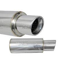"Injen Universal Muffler 3.00"" w/Stainless Steel resonated rolled tip"