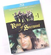 Robin Of Sherwood Set 1 - New 4-Disc Blu-Ray - Series 1&2 - Minor Sleeve Damage