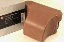 Leica X Vario Ever-ready case, Cognac Leather #18779 - Close-Out Pricing!