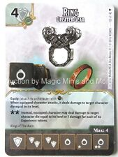 Faerun Under Siege RING Greater Gear #103 D&D Dice Masters card die