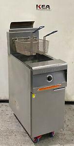 Frymaster Performance Gas Deep Fryer 25L Model : PMJ145GSD