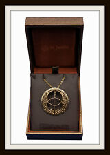 GLASTONBURY CHALICE WELL BRONZE PENDANT NECKLACE ~  FROM ST JUSTIN ~FREE P&P