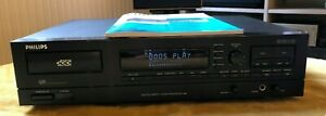 Philips Digital Compact Cassette Player DCC 600 With Matching Remote
