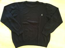 SUPERBE PULL HOMME MARINE, LOGO POLO, TAILLE XL