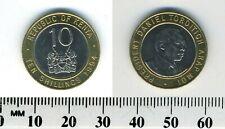 Kenya 1994 - 10 Shillings Bi-Metallic Coin - Pres. Naniel Toroitich Arap Moi