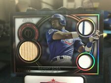 2020 Topps Tribute Sammy Sosa Game Used Triple Relic 136/150 Chicago Cubs