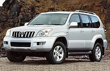 TOYOTA LANDCRUISER PRADO 120 125 SERIES 2002-2009 REPAIR SERVICE MANUAL FAST!!