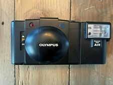 Olympus XA2 35mm Rangefinder Film Camera with A11 Flash Excellent Condition