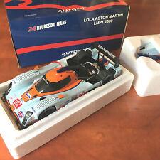 Lola Aston Martin Gulf AutoArt 1/18 LMP1 2009 N°007 – 80906