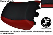 BLACK D RED VINYL CUSTOM FITS BMW R 1150RT 00-06 R 1100RT 94-01 REAR SEAT COVER