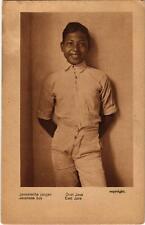 PC Oost Java. Javanese boy. Javaansche jongen INDONESIA (a15960)