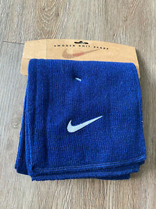Nike Knitted Blue Acrylic Running Jogging Winter Scarf Late 90s Early 2000s NEW