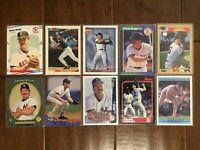 Wade Boggs - Boston Red Sox - 10 Baseball Card Lot - No Duplicates