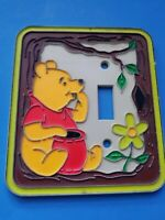 Vintage Winnie the Pooh Light Switch Cover Disney Nursery PRE-OWNED