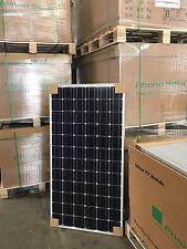 1 neues Solarmodul Monokristallin mit 195 Watt Solaranlage Camping Photovoltaik