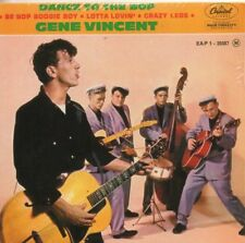 CD Single Gene VINCENT	Dance To The Bop - French EP REPLICA  4-TRACK CARD SLEEVE