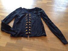 AMISU Weste, Jacke, Shirt Gr. XS, 34 / 34 schwarz TOP !!!