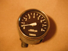 Vintage Yamaha Snowmobile 8,000 RPM Mechanical Tachometer
