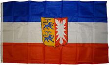 XXL Fahne Schleswig Holstein 250 x 150 cm Bundesland Hiss Flagge mit Wappen Neu