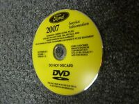 2007 Ford Taurus Sedan Shop Service Repair Manual DVD SE SEL Fleet