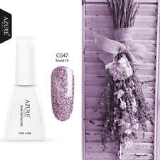 Azure 12ML 60 Color Gel Polish UV Soak Off Nail Art Top Base Coat Primer Varnish