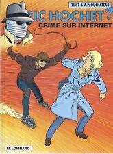 BD  Ric Hochet - Crime sur internet - N°60-  EO cartonnée-1998 -TTBE- Tibet