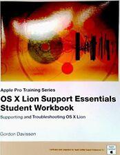 OS X Lion Support Essentials Student Workbook,