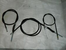 1968 Honda z50 miitrail complete cable set, black color with black boots