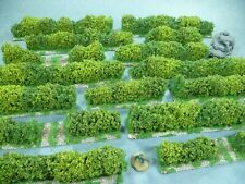 15 Lengths of Large Hedges for 20mm and 25mm scale wargames