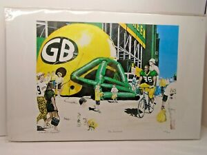 THE AUTOGRAPH SIGNED BY David A Higwell; 450/500, Green Bay Packer