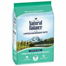 Natural Balance L.I.D. Limited Ingredient Diets Dry Cat Food Green Pea & Chic...