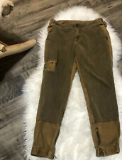 Anthropologie Hei Hei Quilted Cargo Jogger Trousers Size 29 Women's