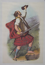 Scottish clans of the Highlands Mac Duff Tartan Kilt photographie couleur