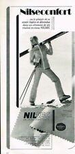 P- Publicité Advertising 1970 Les Vetements de ski Nilsec Jantzen